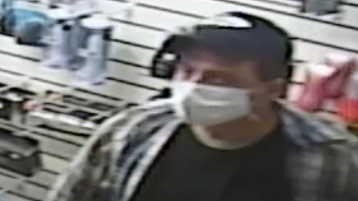 Elyria Police search for man suspected of stealing several items from adult store