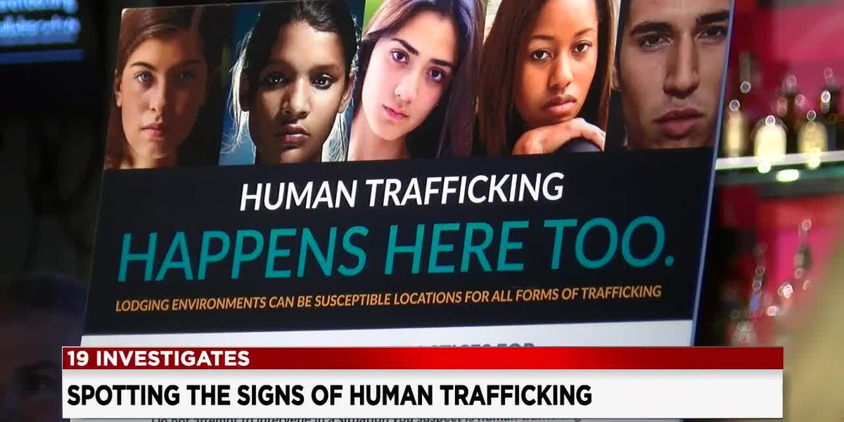 Spotting the signs of human trafficking