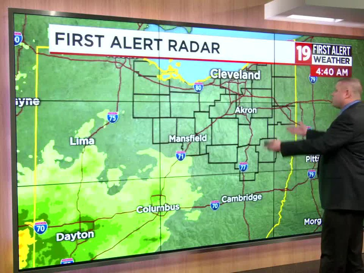 Northeast Ohio Weather: A rainy, disruptive travel day for many