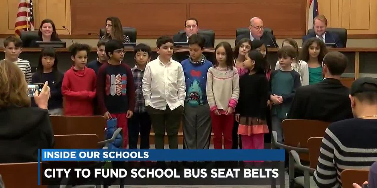 Beachwood 3rd graders successfully lobby for seat belts in school buses