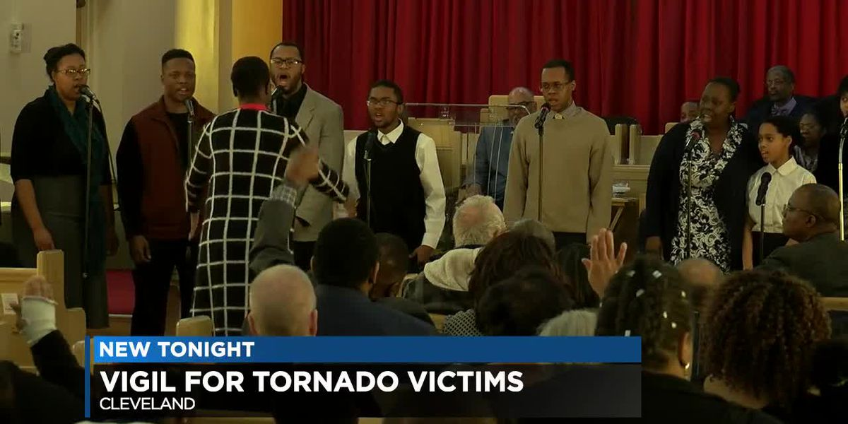 Cleveland remembers victims killed in Alabama tornadoes