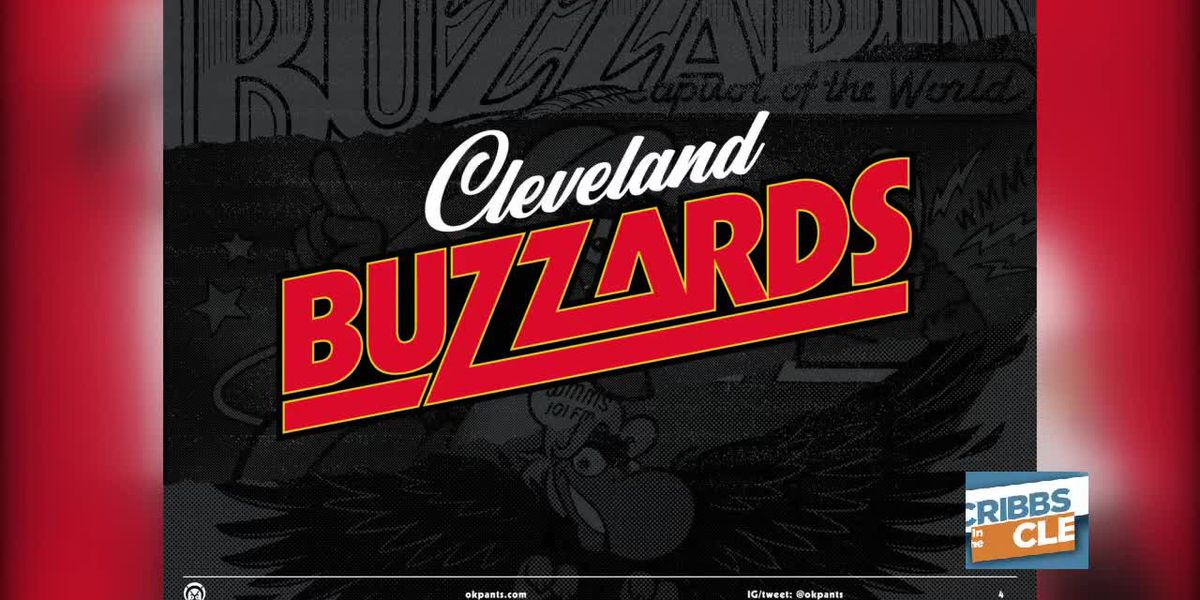 Cleveland Buzzards? Cleveland illustrator OKPANTS makes a pitch with some new art work for the Indians