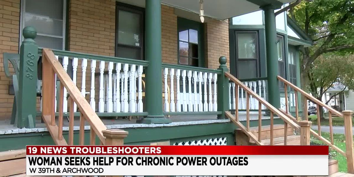 Troubleshooters: Cleveland woman said she's had power outages at her home since 2018