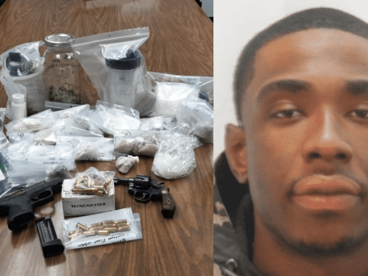 Mansfield man jumps out of 2nd story window in failed attempt to evade officers before $71,600 worth of drugs were seized