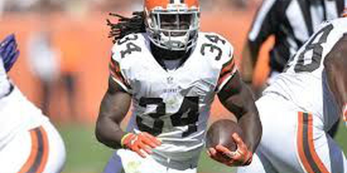 Browns transcript on running back Isaiah Crowell
