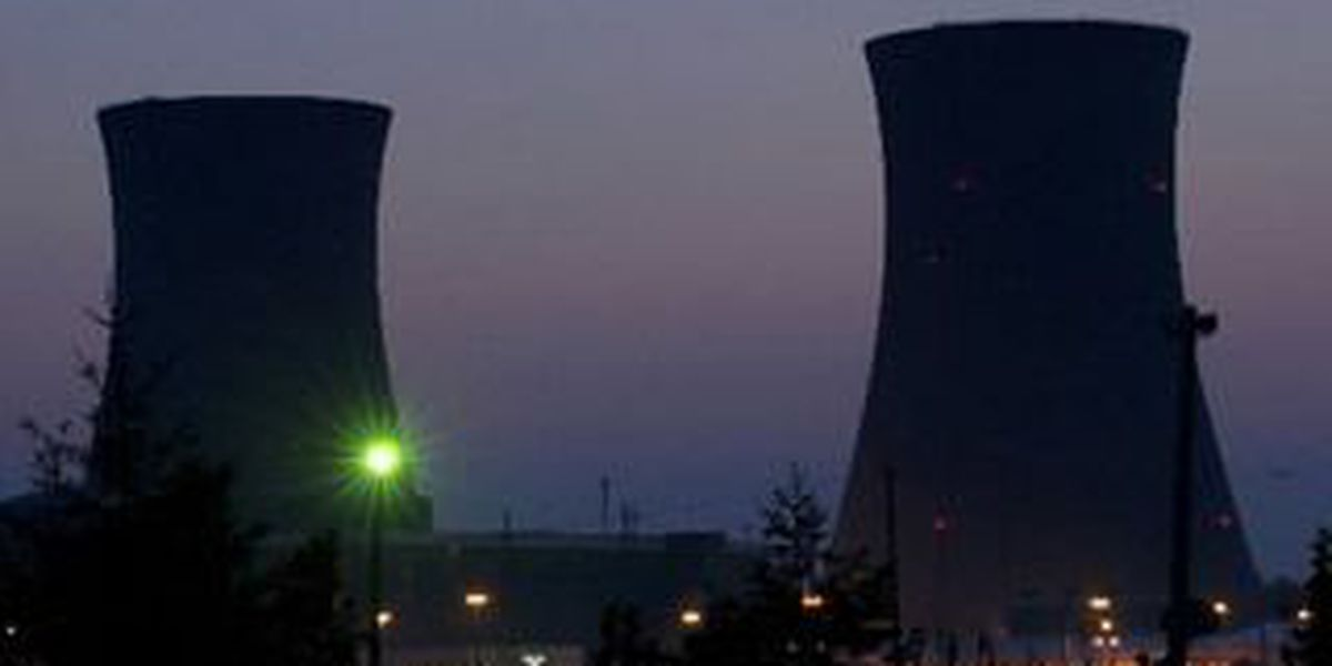 Officials monitor Perry Nuclear Power Plant following leak