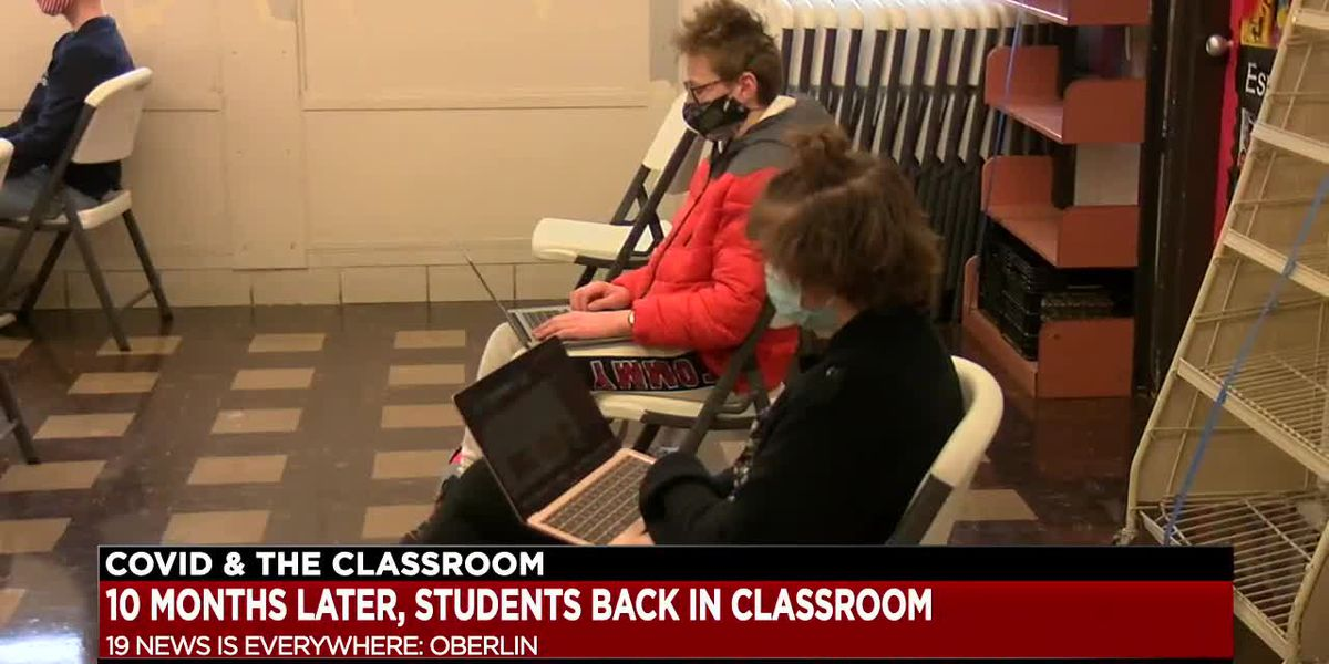 Limited amount of students return to Oberlin High School after nearly 10 months