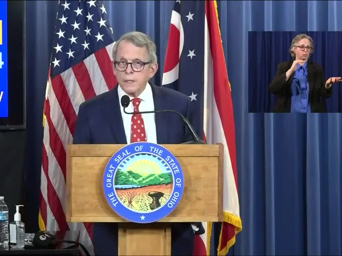 Ohio Gov. DeWine's coronavirus response approval rating highest among governors