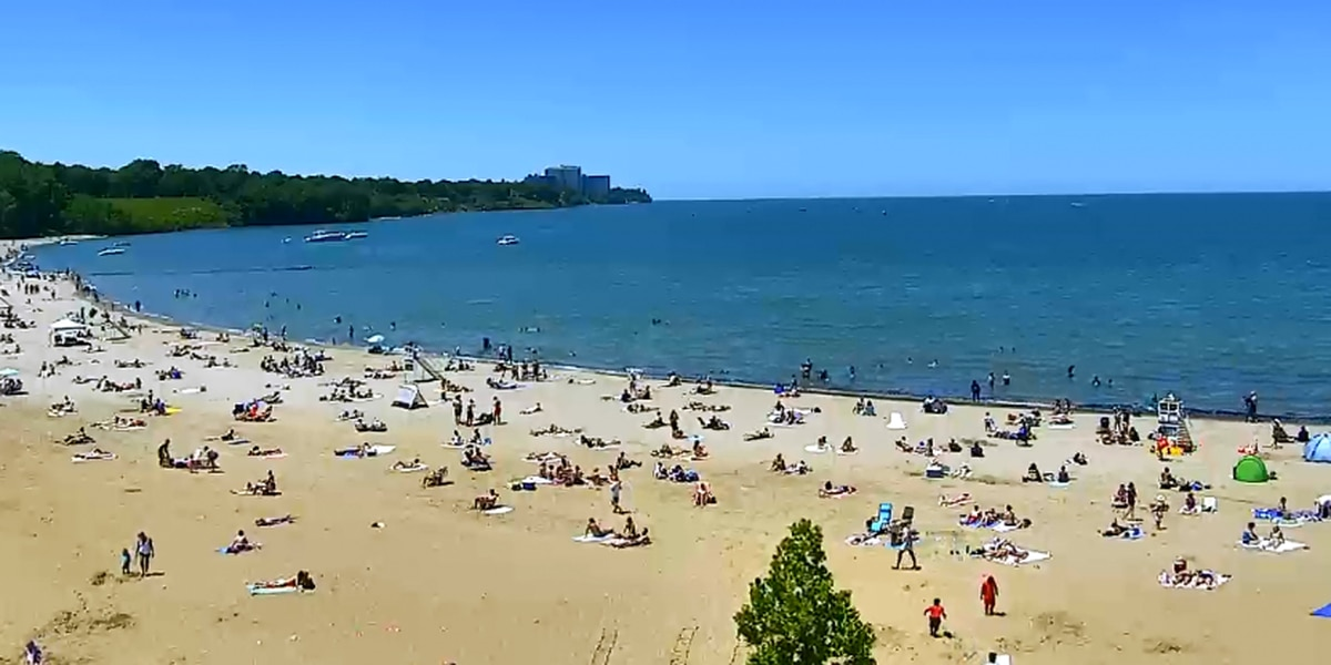 Guarded swim hours at Cleveland Metroparks' Edgewater and Huntington beaches resume