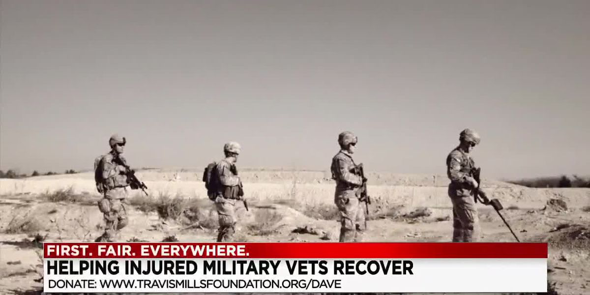 Army veteran wants to give back after losing limbs