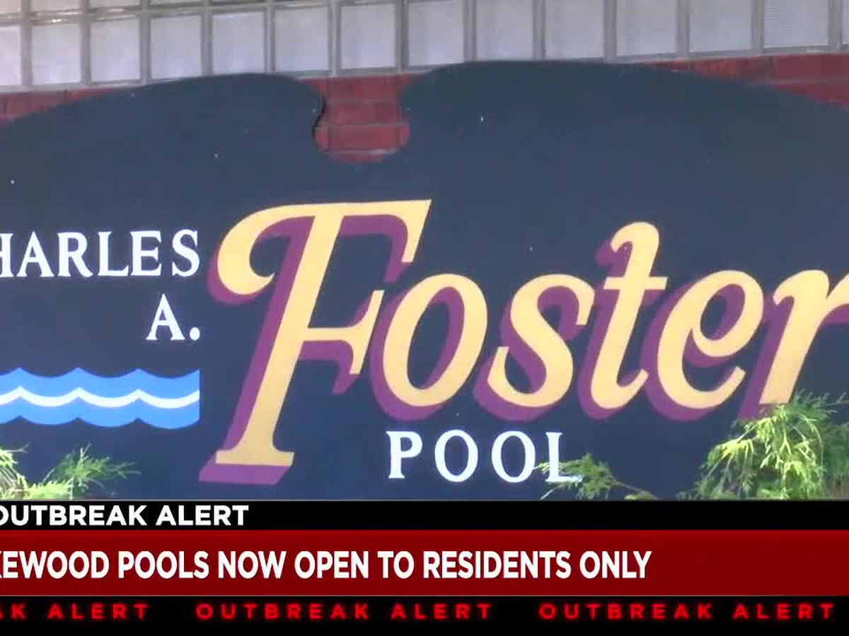 Lakewood community pools now open to residents only