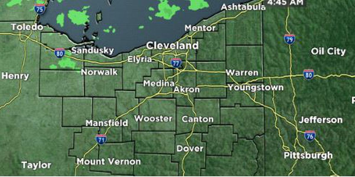 Northeast Ohio weather: Rain returns this weekend