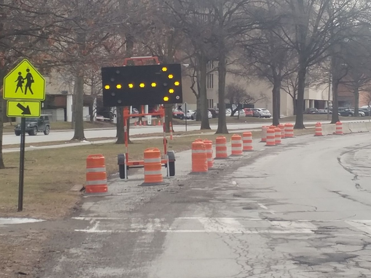 Construction zone, but no construction: University Circle drivers irked over lane closures