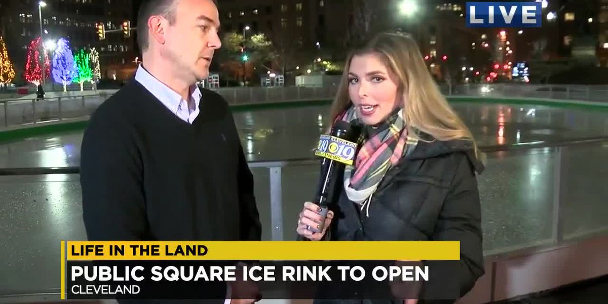 Life In The Land: Public Square Ice Rink To Open