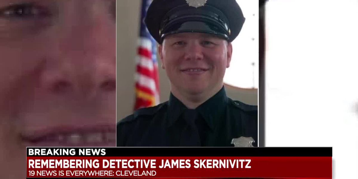 Community mourns the loss of Cleveland Police Detective James Skernivitz, killed in the line of duty