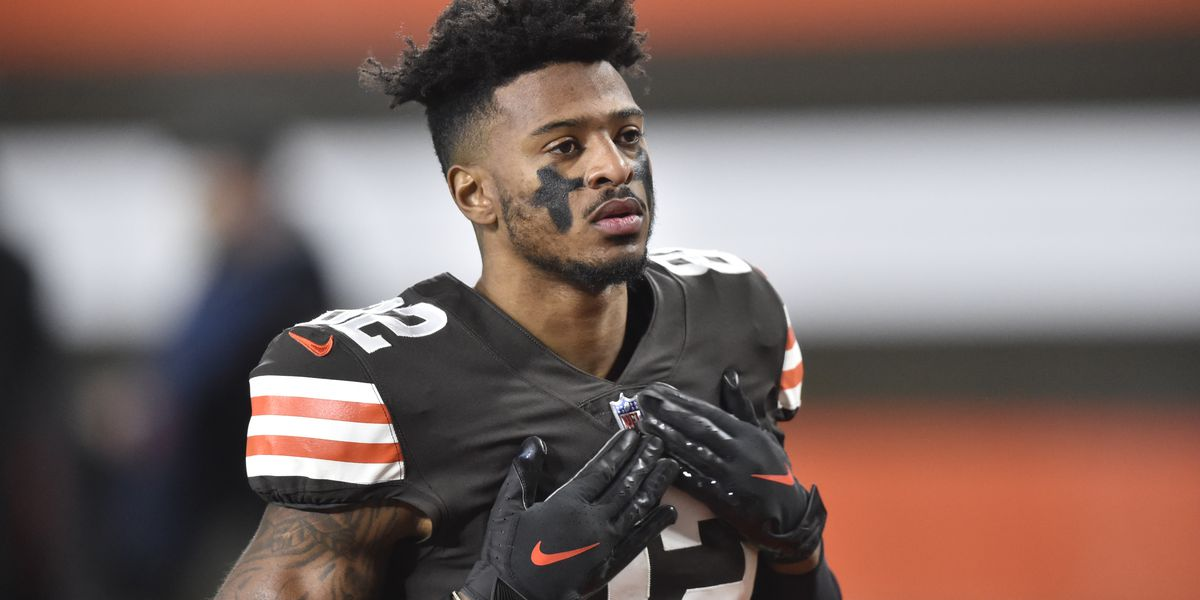 """Rashard """"Hollywood"""" Higgins happy to be back with Browns"""