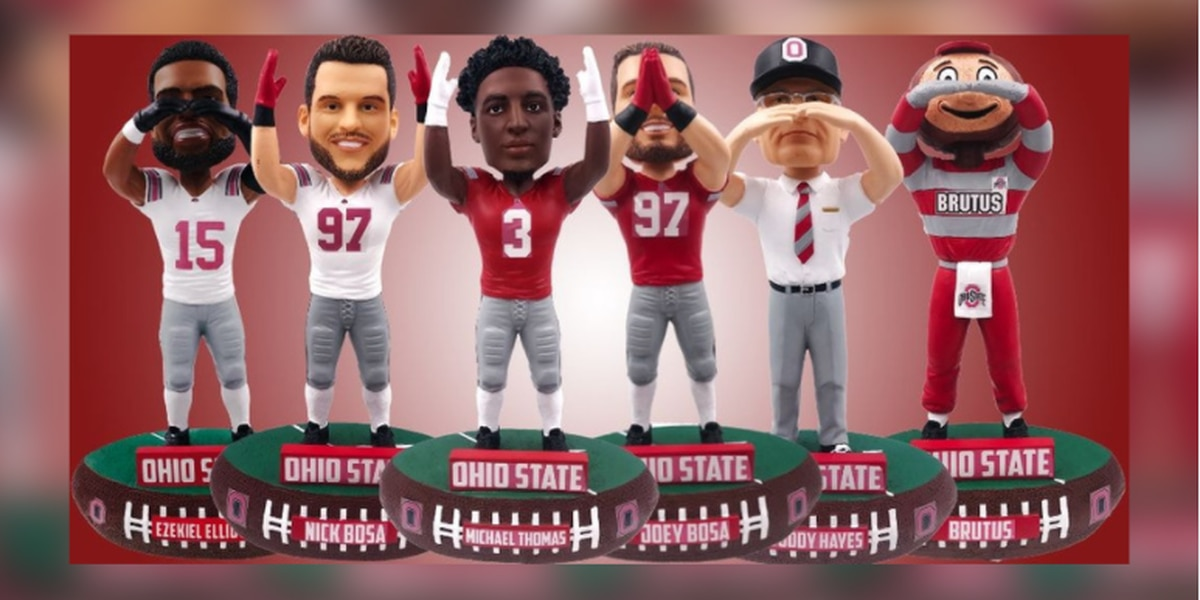 National Bobblehead Hall of Fame and Museum to release 6 limited edition Ohio State bobbleheads