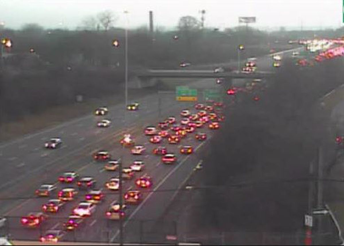 Two accidents stifle traffic on I-90 Eastbound