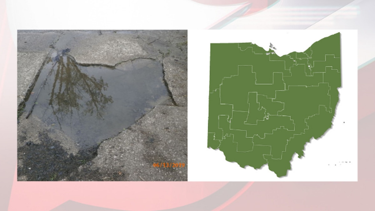 Residents say Parma Heights pothole looks just like Ohio
