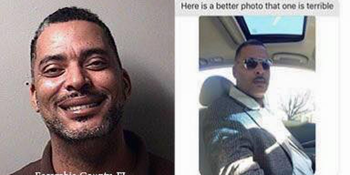 Fugitive who didn't like old mugshot has a new one, caught in Florida