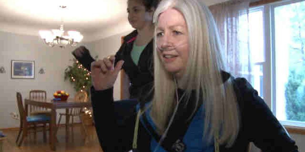 Attitude is everything for woman awaiting double lung transplant