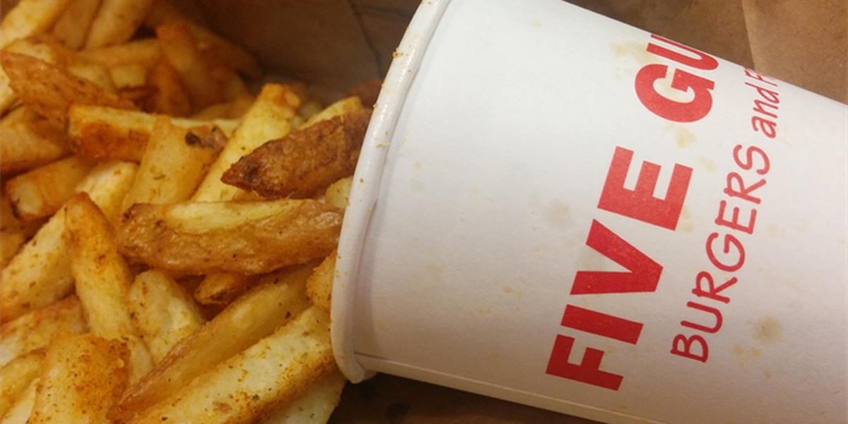 New ranking has Five Guys Burgers ahead of In-N-Out Burger