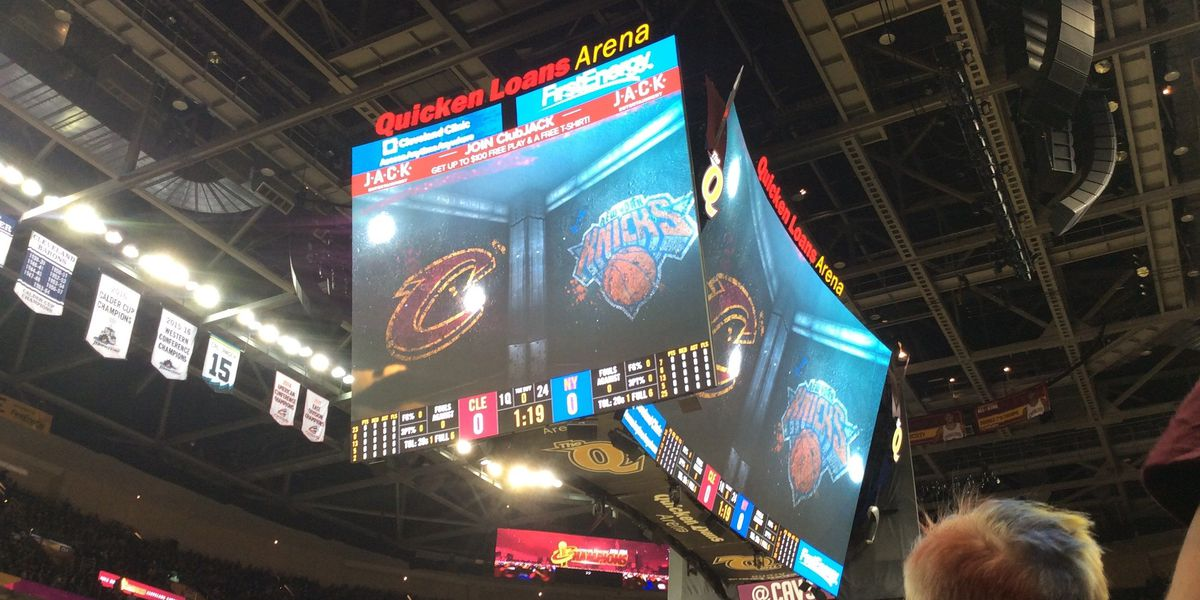Cavs slaughter the Knicks on Opening Night