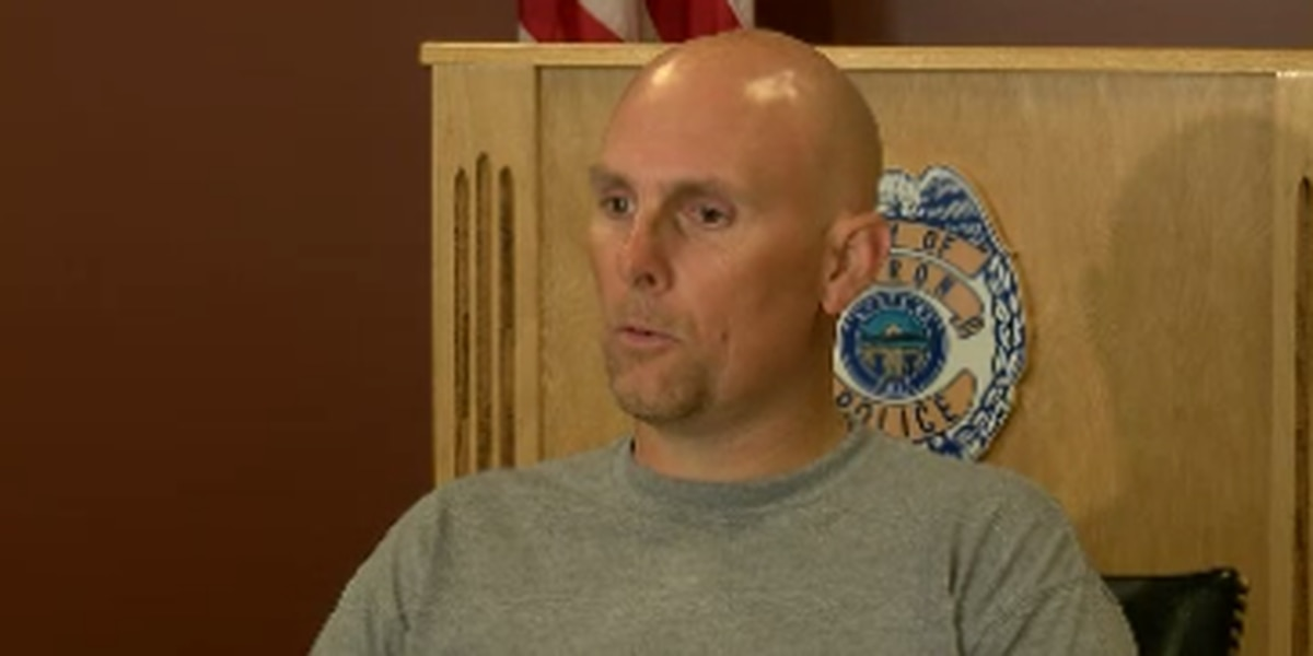 Akron officer struck by drunk driver speaks out