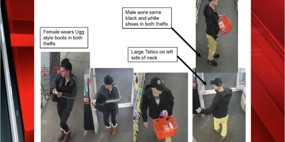 Lakewood Police searching for suspects accused of shoplifting over $1,000 in medications from CVS twice