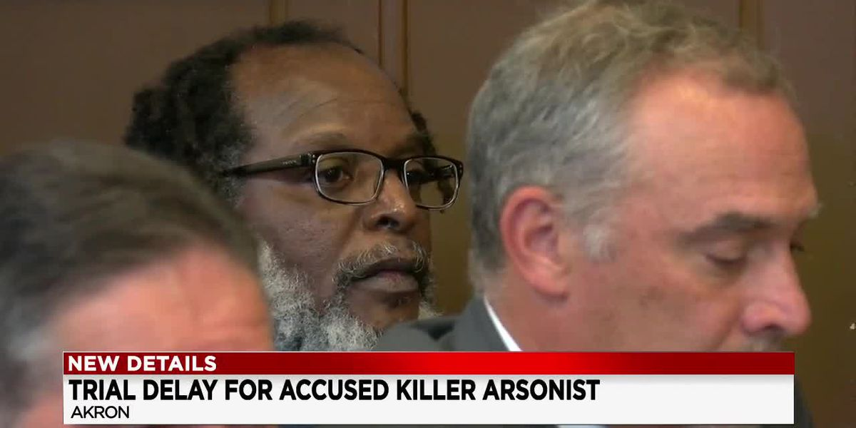 Accused arsonist on trial for allegedly killing 9 people in 2 Akron fires complains at competency hearing