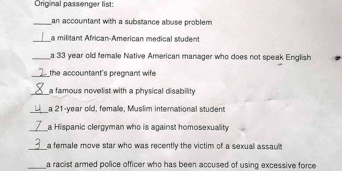 Cuyahoga Falls, OH school assignment asks students to decide who 'deserves' to survive 'doomed Earth' based on race, religion, sexuality