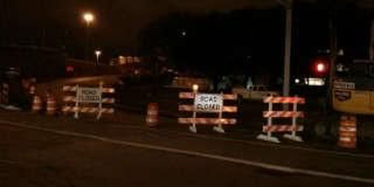 I-77 closures over the rest of the week