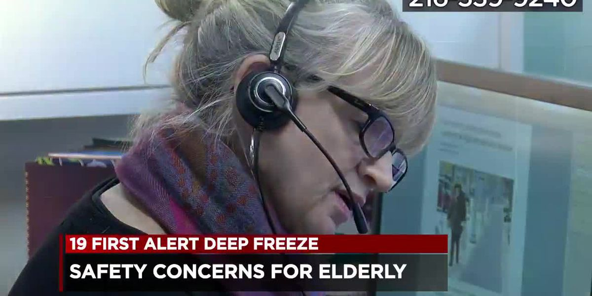 Helpline launched to keep Northeast Ohio's elderly safe and calm during deep freeze