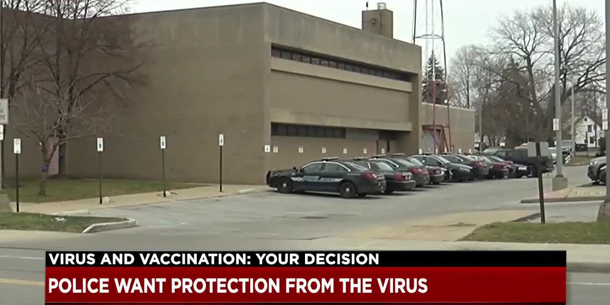 'It's been a long time coming' - Ohio police officers included in the next vaccination group