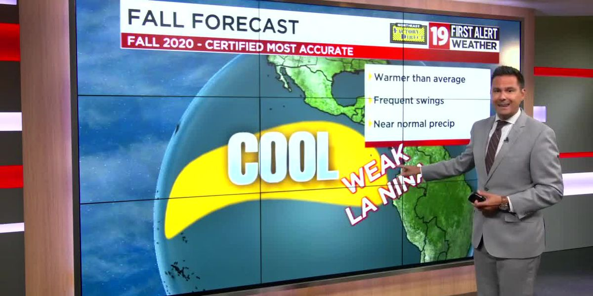 19 First Alert Weather team's 2020 fall forecast has above-average temperatures
