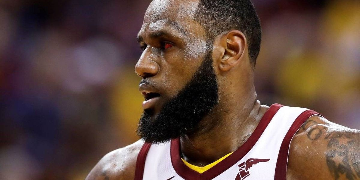 Lebron James S Nba Finals Eye Injury Explained