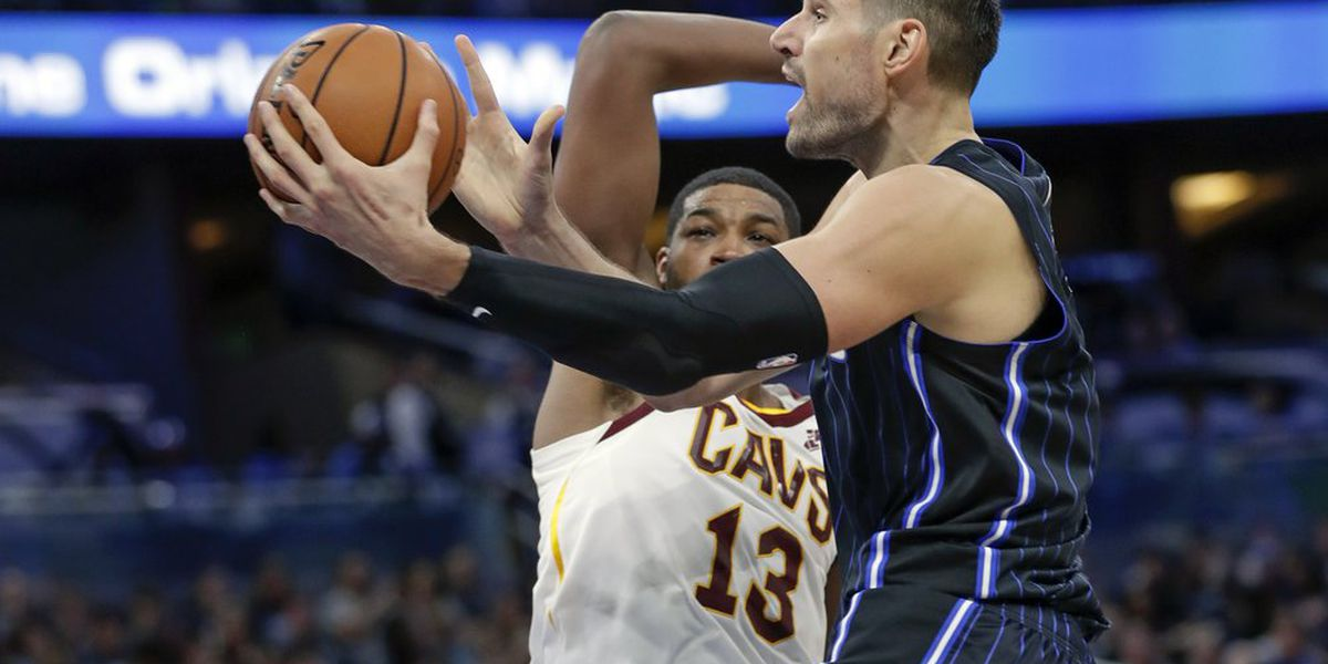 CAVS FALL TO MAGIC IN OPENER