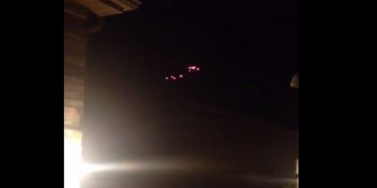 Video of mysterious Ohio lights create social buzz