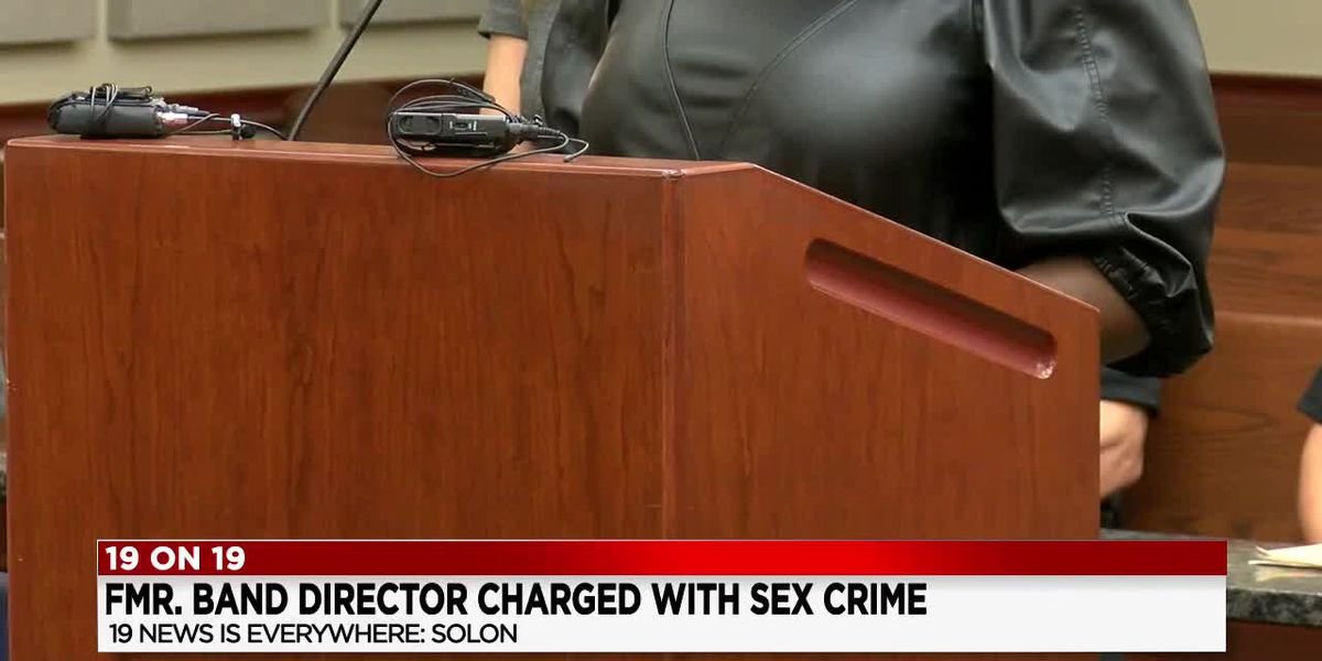 Victim in court says former Solon Middle School band teacher inappropriately touched her