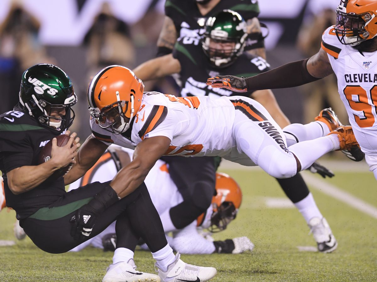'I'm not a dirty player, that's not me': Myles Garrett after getting multiple roughing the passer penalties against the New York Jets