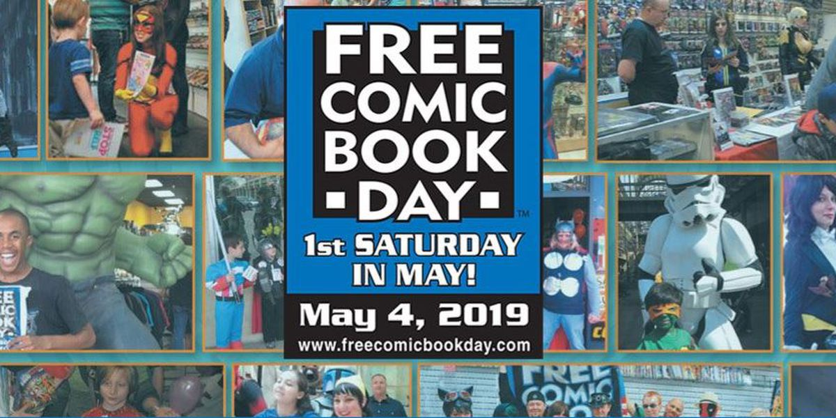 Local stores participate in Free Comic Book Day