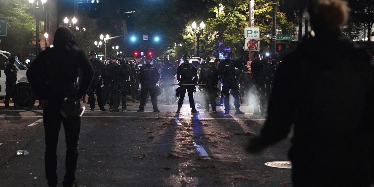 Arrests in Portland, Oregon, protest follow fairly calm rally