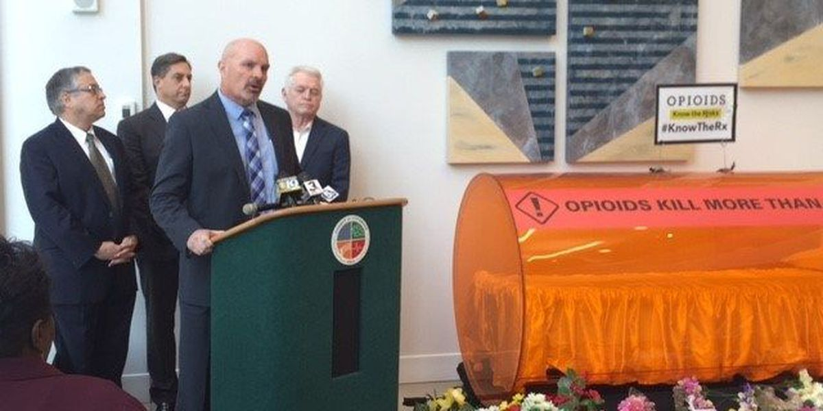 Cuyahoga County sues drug companies to 'recoup' millions