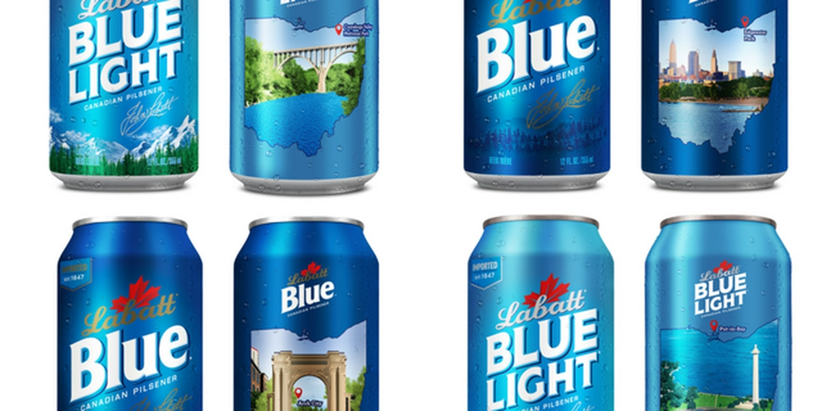 Cans for a cause: Labatt Blue beer pays tribute to Edgewater Park, other Lake Erie landmarks