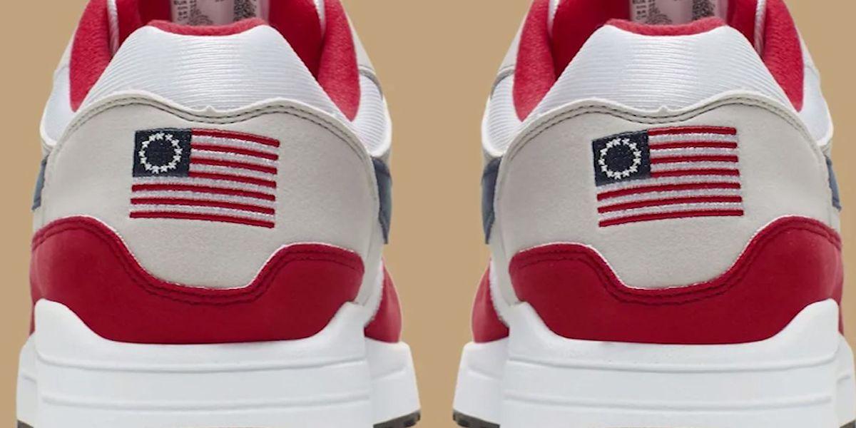 Report: Nike pulls Betsy Ross flag sneaker after Kaepernick complaint