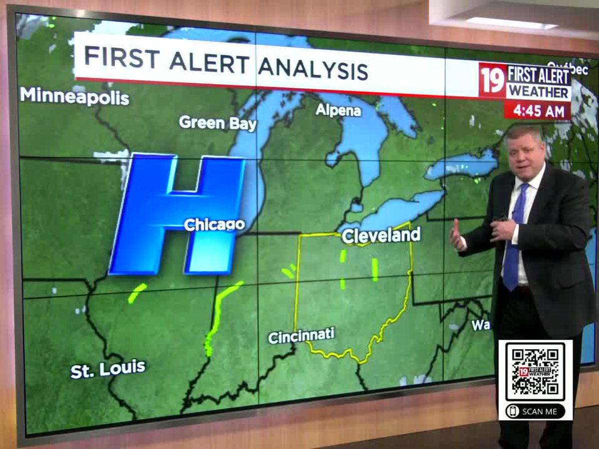 Northeast Ohio weather: More sunshine and a gradual warming trend