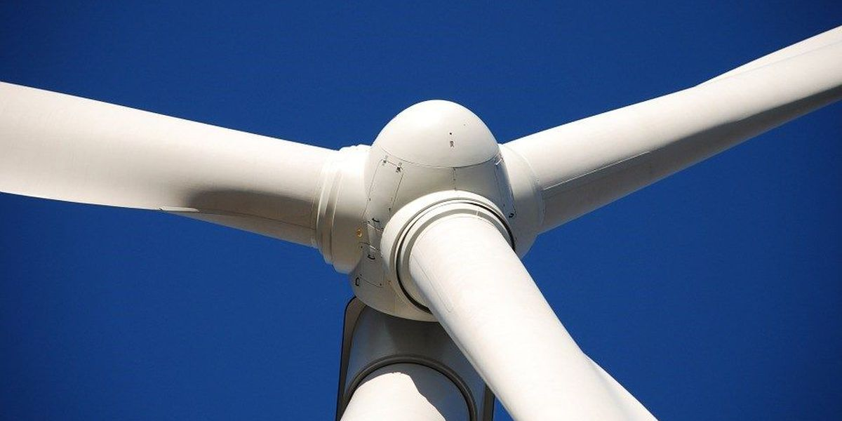 Local students climb wind turbine for educational experience