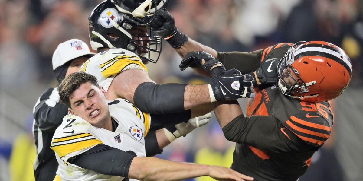 Mason Rudolph will not be the starting QB in rivalry rematch between the Browns, Steelers