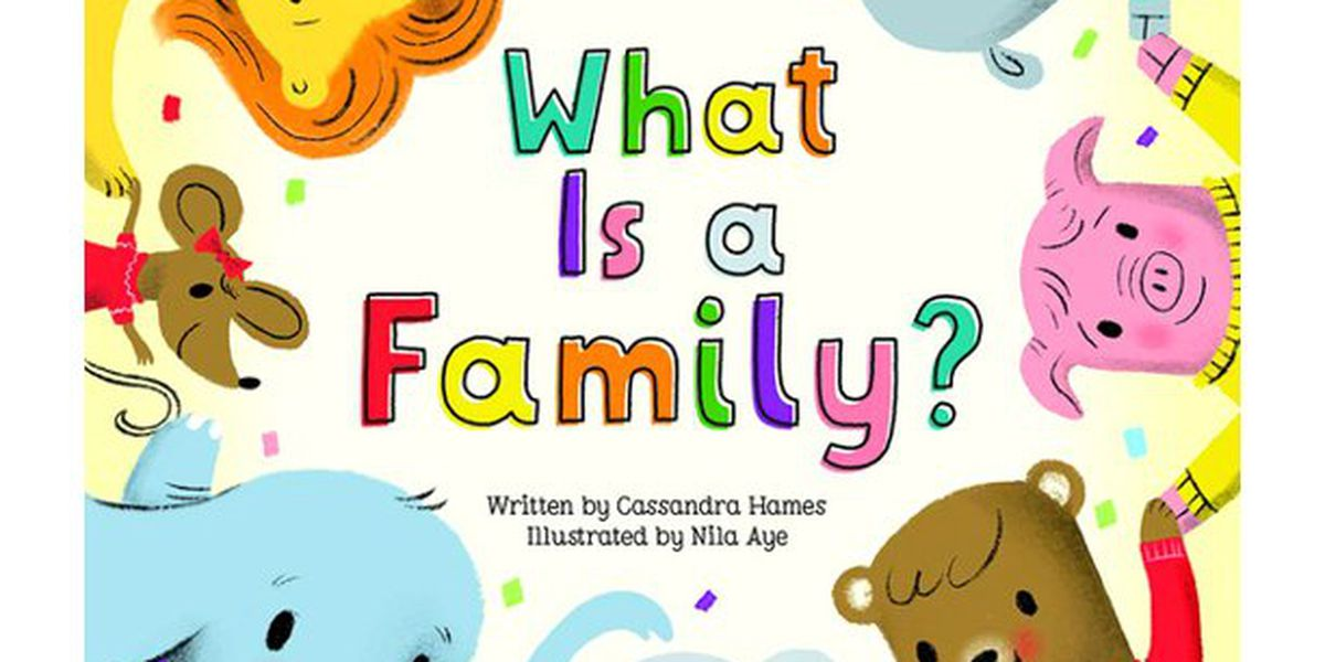 'What is a Family?' is read on Story Time with Jamie Sullivan