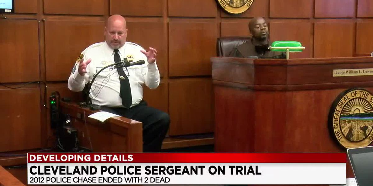 Community members fill courtroom for trial of Cleveland Police Sergeant charged in deadly 2012 chase